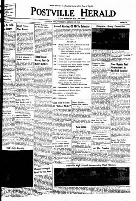 Postville Herald from Postville, Iowa · Page 1