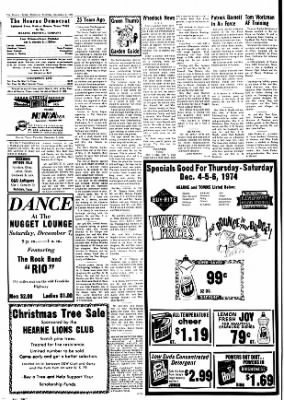 The Hearne Democrat from Hearne, Texas · Page 4