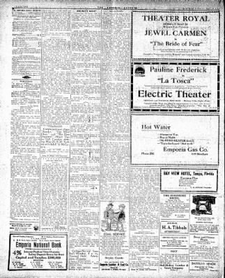 The Emporia Gazette from Emporia, Kansas · Page 1