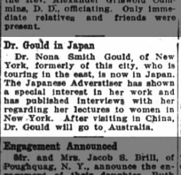 Nona goes to Japan