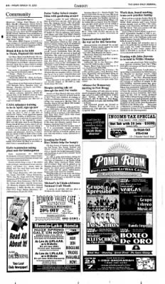 Ukiah Daily Journal from Ukiah, California · Page 6