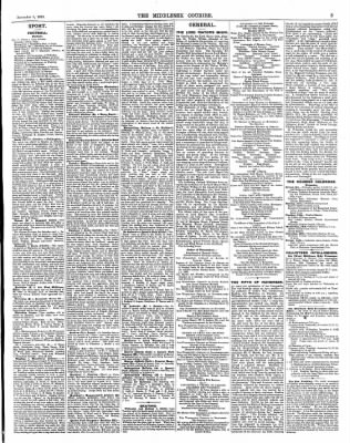 The Middlesex Courier from London,  · Page 3