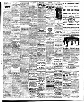 The Davenport Daily Gazette from Davenport, Iowa · Page 2