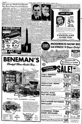 Cumberland Sunday Times from Cumberland, Maryland · Page 30
