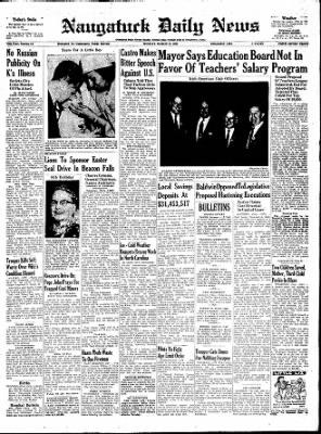 Naugatuck Daily News from Naugatuck, Connecticut · Page 1