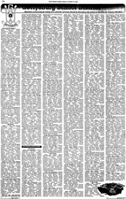 The Gettysburg Times from Gettysburg, Pennsylvania · Page 42