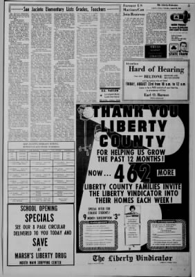 The Liberty Vindicator from Liberty, Texas · Page 5