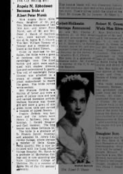 SFXA - Angela Abbadessa Marsh wedding, 1954