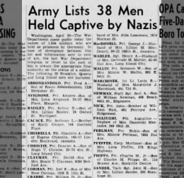 Brooklyn Daily Eagle 30 April 1945