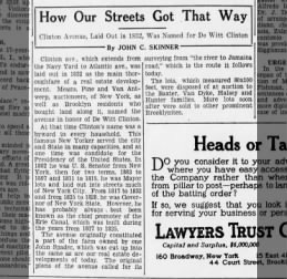 how our streets got that way 4/15/29