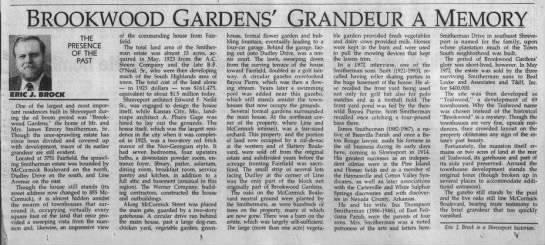 1996-04-13 Brookwood Gardens 3715 Fairfield, now855 McCormick Blvd