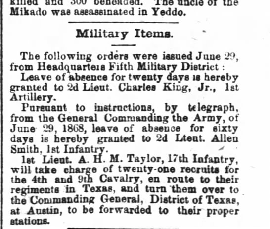 The Times-Picayune New Orleans July 1, 1868