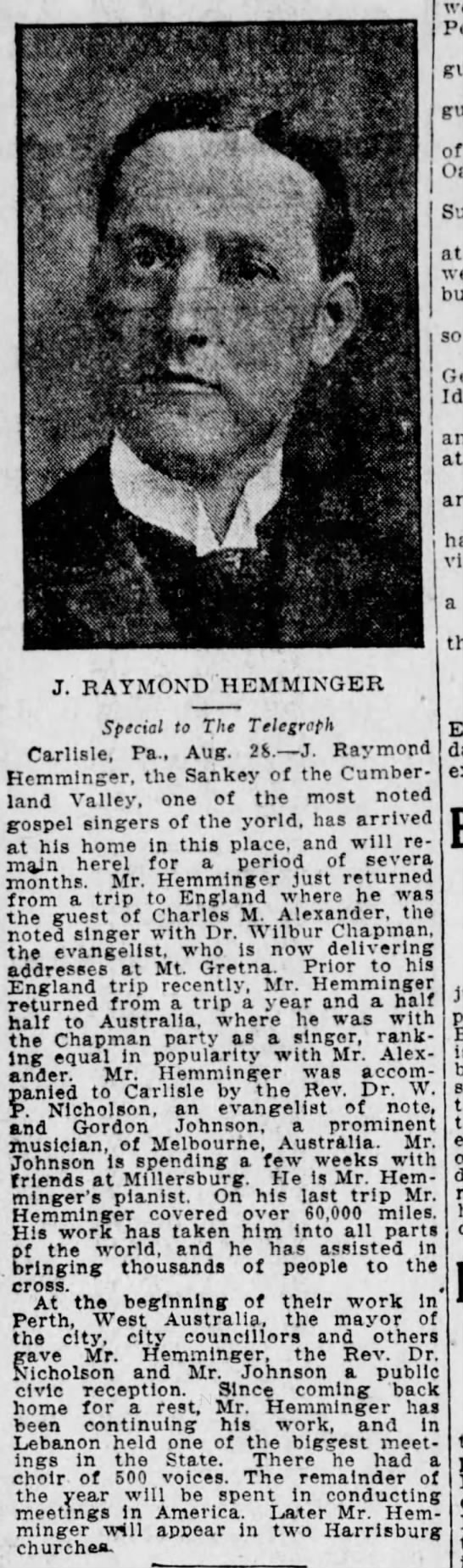 J. Raymond Hemminger