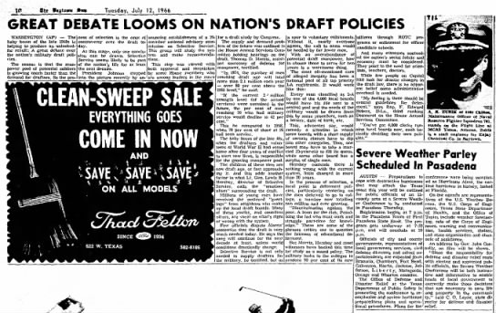 A R Zubik article on draft policies