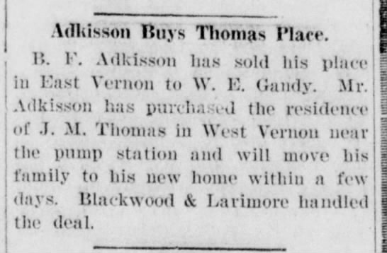 The Vernon Record, TX, 225 Apr 1919 p2 c5