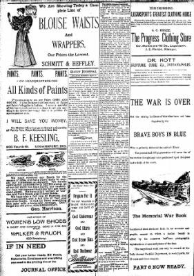 Logansport Pharos-Tribune from Logansport, Indiana on May 17, 1894 · Page 8