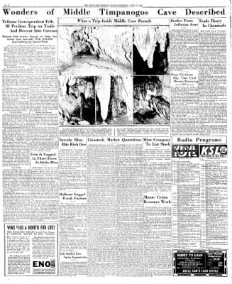 The Salt Lake Tribune from Salt Lake City, Utah on July 12, 1936 · Page 20
