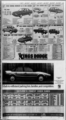 The Cincinnati Enquirer from Cincinnati, Ohio on October 5, 1991 · Page 70