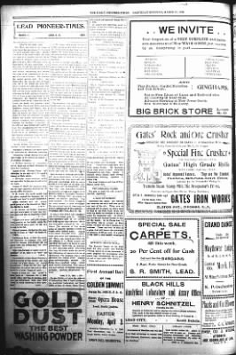 The Daily Deadwood Pioneer-Times from Deadwood, South Dakota on March 11, 1899 · Page 6
