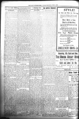 The Daily Deadwood Pioneer-Times from Deadwood, South Dakota on June 11, 1899 · Page 4