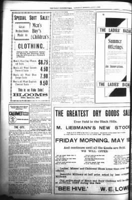 The Daily Deadwood Pioneer-Times from Deadwood, South Dakota on July 1, 1899 · Page 8