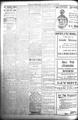 The Daily Deadwood Pioneer-Times from Deadwood, South Dakota on July 29, 1899 · Page 2