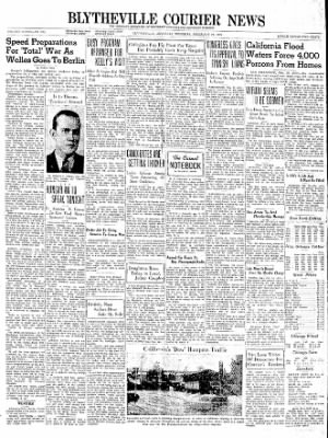 The Courier News from Blytheville, Arkansas on February 29, 1940 · Page 1