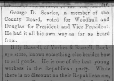 A vote for the Woodhull-Douglass ticket