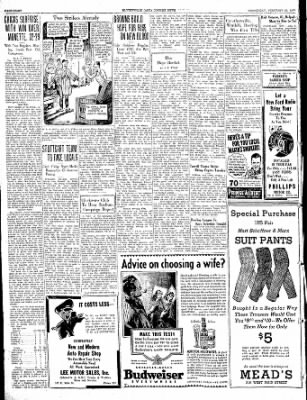 The Courier News from Blytheville, Arkansas on February 23, 1938 · Page 8