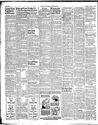 The Holland Evening Sentinel from Holland, Michigan on October 6, 1953 · Page 4