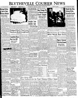 The Courier News from Blytheville, Arkansas on June 28, 1949 · Page 1