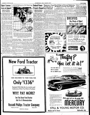 The Courier News from Blytheville, Arkansas on March 29, 1949 · Page 3
