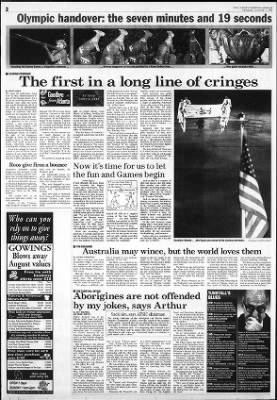 The Sydney Morning Herald from Sydney, New South Wales on August 6, 1996 · Page 2