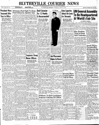 The Courier News from Blytheville, Arkansas on April 11, 1946 · Page 1