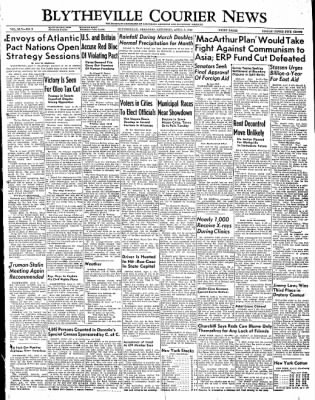 The Courier News from Blytheville, Arkansas on April 2, 1949 · Page 1
