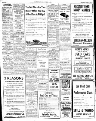 The Courier News from Blytheville, Arkansas on April 2, 1949 · Page 6