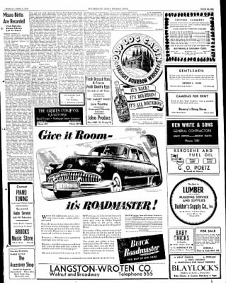 The Courier News from Blytheville, Arkansas on April 4, 1949 · Page 7