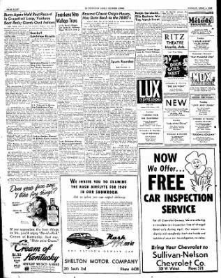The Courier News from Blytheville, Arkansas on April 5, 1949 · Page 8