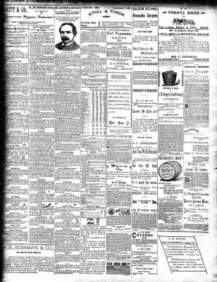 Lebanon Daily News from Lebanon, Pennsylvania on October 19, 1892 · Page 4
