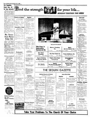 The Seguin Gazette-Enterprise from Seguin, Texas · Page 14