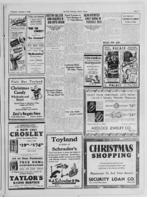 The Daily Clintonian from Clinton, Indiana on December 2, 1936 · Page 5