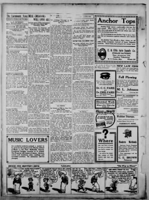 The Fairmount News from Fairmount, Indiana on November 7, 1921 · Page 2