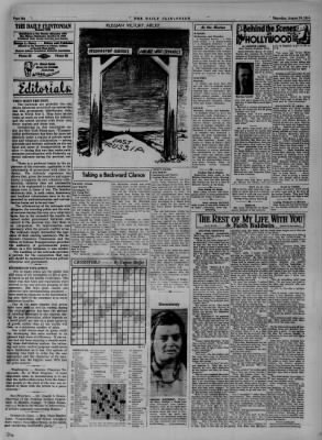 The Daily Clintonian from Clinton, Indiana on August 10, 1944 · Page 6