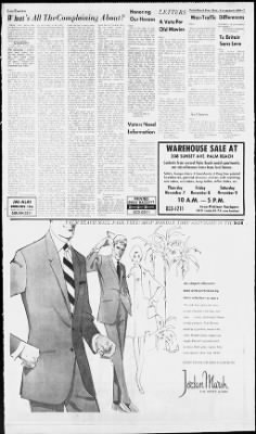 The Palm Beach Post from West Palm Beach, Florida on November 6, 1968 · Page 7