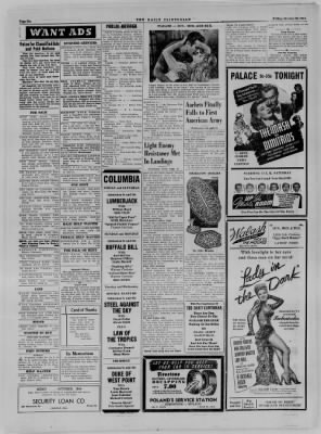 The Daily Clintonian from Clinton, Indiana on October 20, 1944 · Page 6