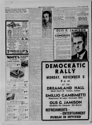 The Daily Clintonian from Clinton, Indiana on November 3, 1944 · Page 4