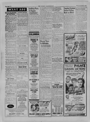 The Daily Clintonian from Clinton, Indiana on November 24, 1944 · Page 8