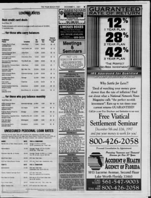 The Palm Beach Post from West Palm Beach, Florida on December 1, 1997 · Page 56