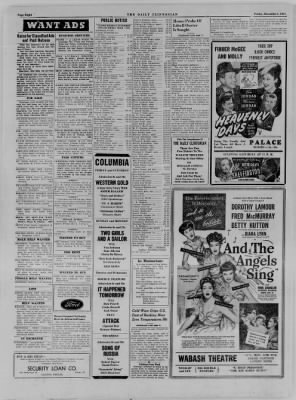 The Daily Clintonian from Clinton, Indiana on December 1, 1944 · Page 8