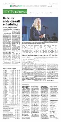 Democrat and Chronicle from Rochester, New York on October 24, 2015 · Page A16